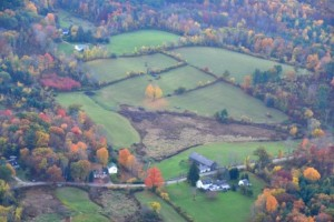 Wendemuth Meadow from the air. Photo taken by Burchard Aviation 2014.
