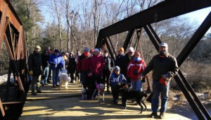 On the pony truss New Year's Day 2015