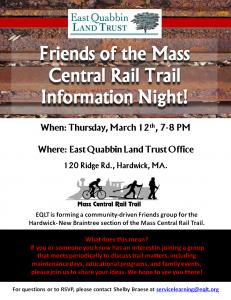 Rail Trail Info Night