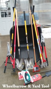Wheelbarrow & Yard Tool