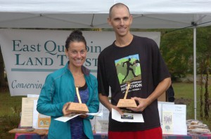2017 winners or the 5-mile Classic, Kate Fields and Matthew Twarog