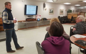 David Stainbrook, program manager for Deer and Moose at MassWildlife, explains changes in moose populations