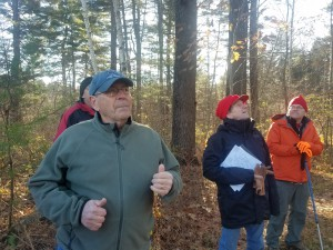 Harry Webb sharing the secrets of his success with managing his woods over the past 25 years.