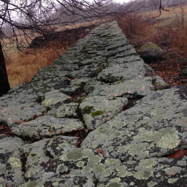 Category 10 - Structures. Stonewall at Mandell Hill, by Jennifer Mott on November 30, 2016