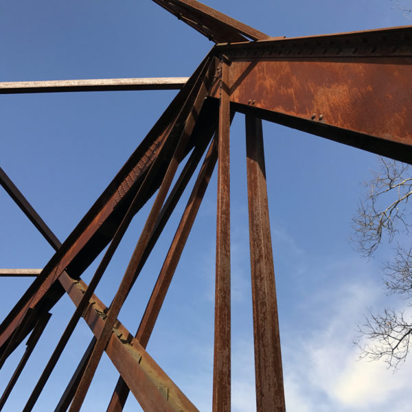 Category 10 - Structures. Truss Bridge by Chris Komenda at the Mass Central Rail Trail