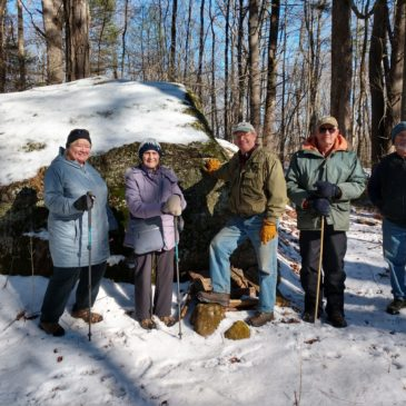 Perfect Day for a Wildlife Tracking Hike at Patrill Hollow Preserve