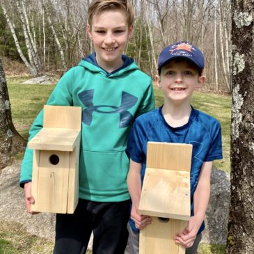 Bluebird House Project a Success!