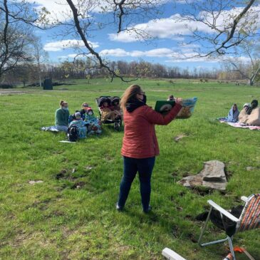 Outdoor Storytime with the Ware Library